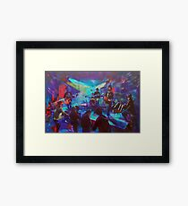 Blues Exile Live at the Hawkesbury Hotel Framed Print