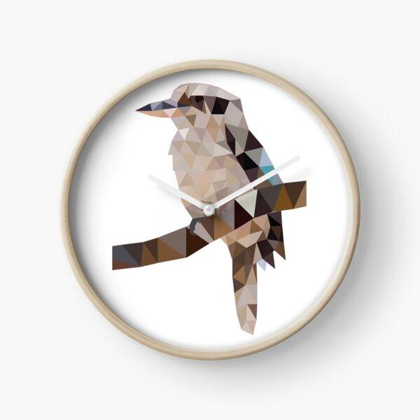 Kookaburra geometric Clock