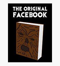 The Original Facebook Photographic Print