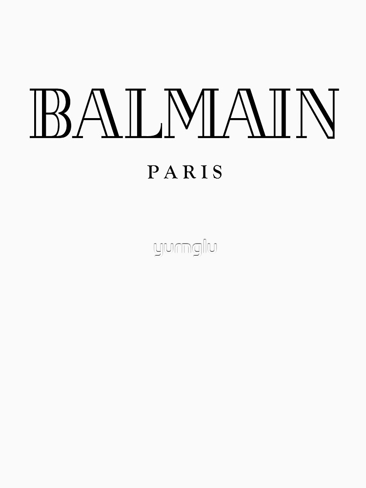 Balmain Paris | Unisex T-Shirt