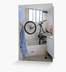Bicycle Parking 3 Greeting Card