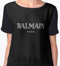 Balmain Paris - White Chiffon Top
