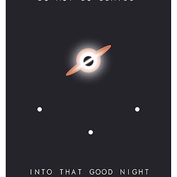 Interstellar Poster by sergboy