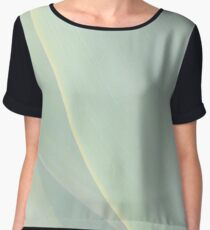Natural Lines In Pastel Women's Chiffon Top