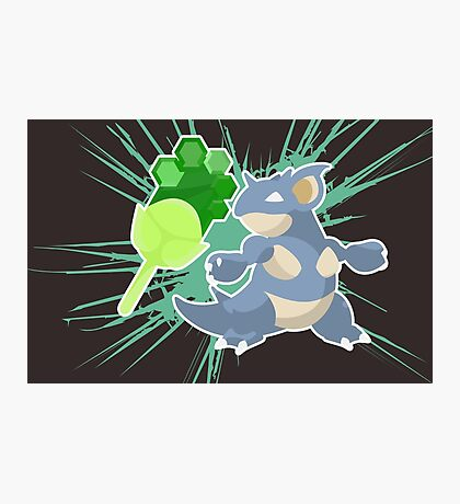 Earth Badge Nidoqueen Photographic Print