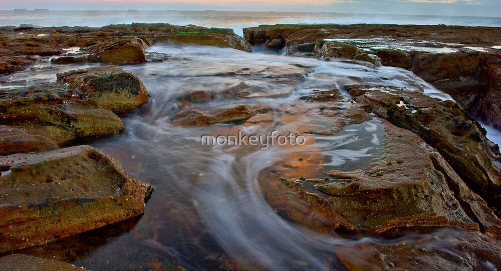 Newcastle Beach  by monkeyfoto