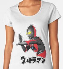 Ultraman -  The Destroyer and the Savior Women's Premium T-Shirt