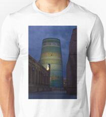 Khiva minaret at dusk T-Shirt