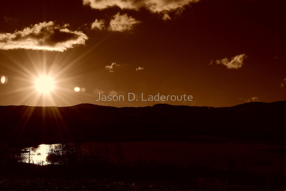 Sepia Calm by Jason D. Laderoute