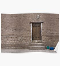 Khiva doorway Poster