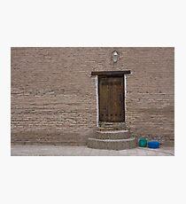 Khiva doorway Photographic Print