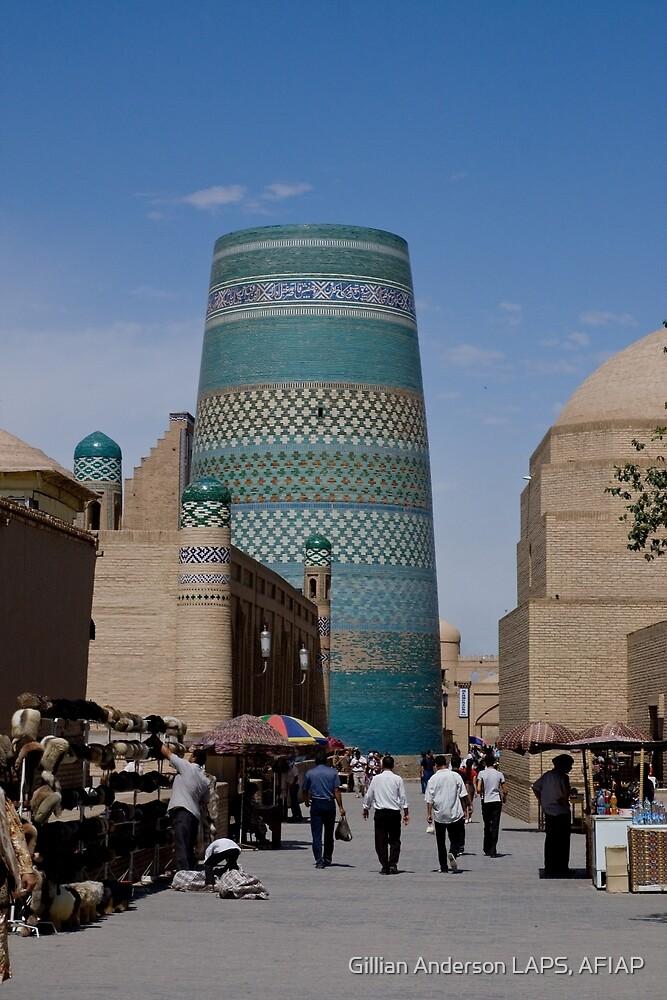 Khiva street by Gillian Anderson LAPS, AFIAP