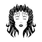 Lilith B&W by RedTideCreative