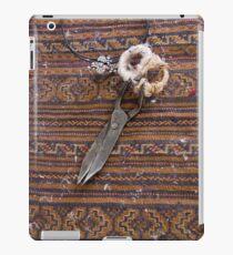 Carpet Making tool iPad Case/Skin