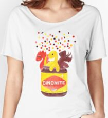 Dino-Mite - By Merrin Dorothy Women's Relaxed Fit T-Shirt