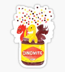 Dino-Mite Vegemite Sticker