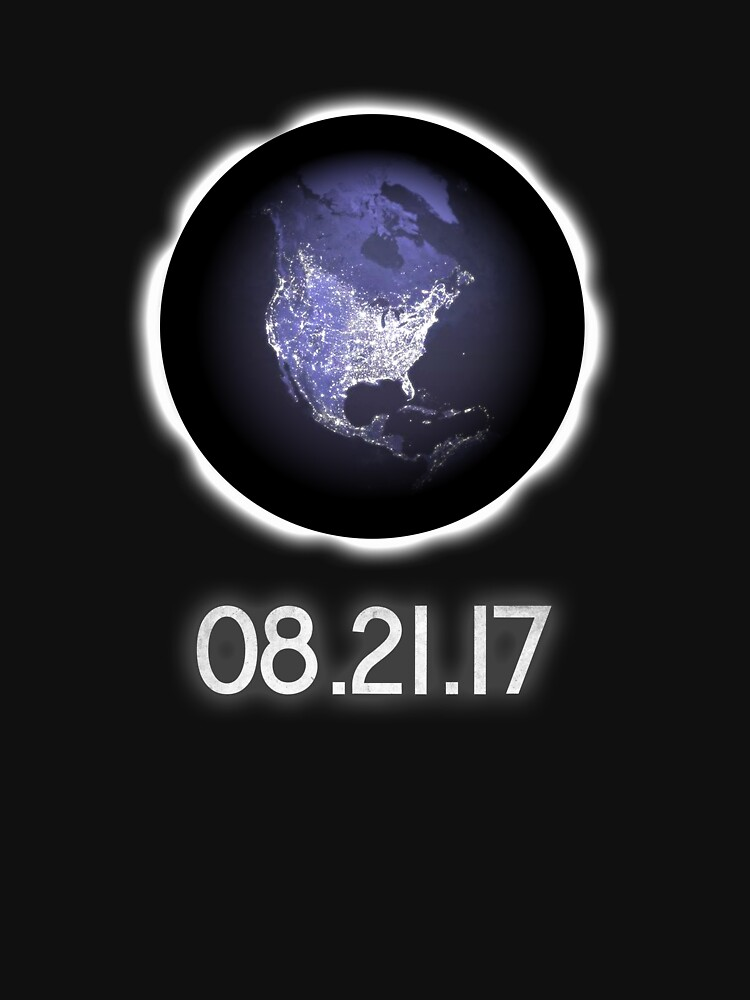 Total Solar Eclipse - Solar Eclipse T-Shirt - 08.21.17 by MrUrban