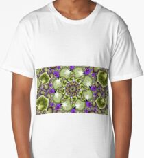 Mandelbrot Fractal Zoom Long T-Shirt