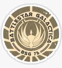 Battlestar Galactica - BSG 75 logo Sticker