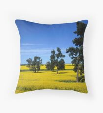 Canola Throw Pillow