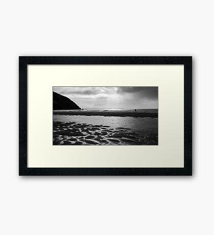 Evening Surf Framed Print