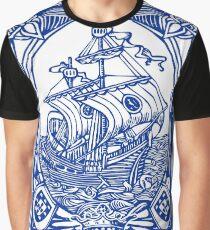 Azulejo Lisbon Azulejos Lisboa Graphic T-Shirt