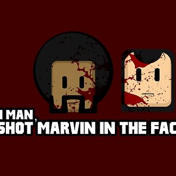 Toon Quote : Pulp Fiction - I Shot Marvin in the Face by blindcoco