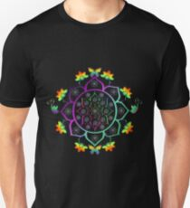 Mandala Slim Fit T-Shirt