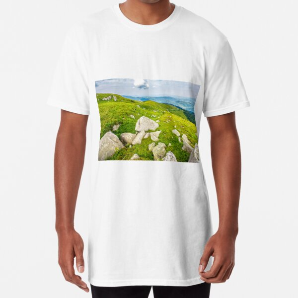 boulders on the hillside Long T-Shirt