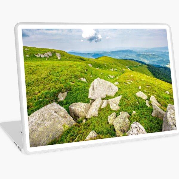 boulders on the hillside Laptop Skin