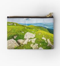boulders on the hillside Studio Pouch