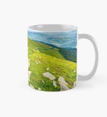 boulders on the hillside Mug