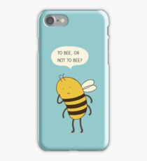 Confused Bee iPhone Case/Skin