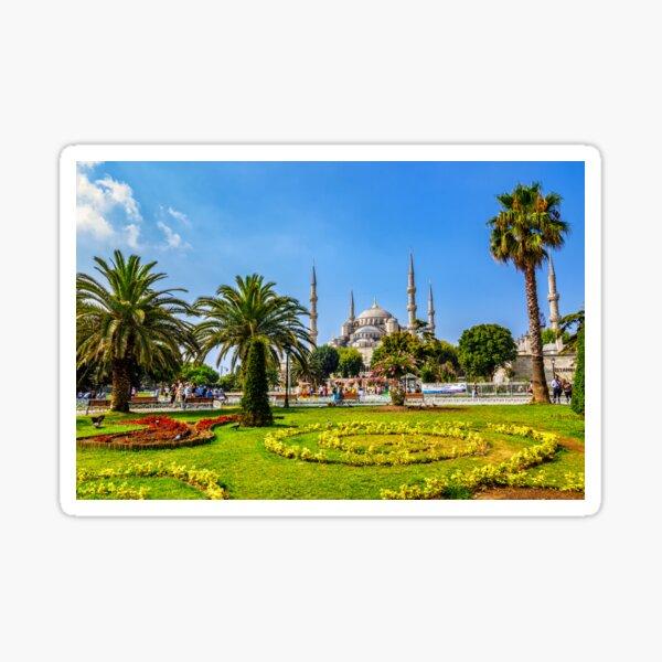 Sultanahmet Park a popular tourists area Sticker