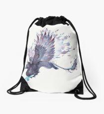 Space Gryphon Drawstring Bag