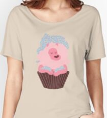 Cupcake Lion Women's Relaxed Fit T-Shirt