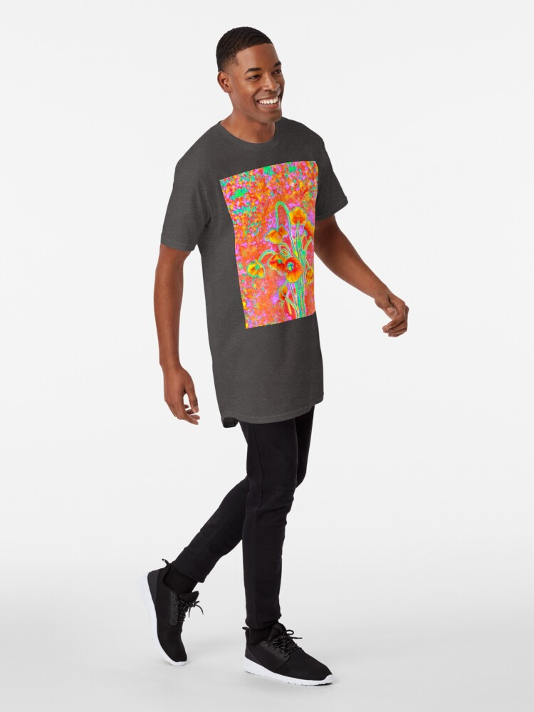 Alternate view of Flowers Long T-Shirt