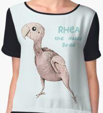 Rhea the Naked Birdie Women's Chiffon Top