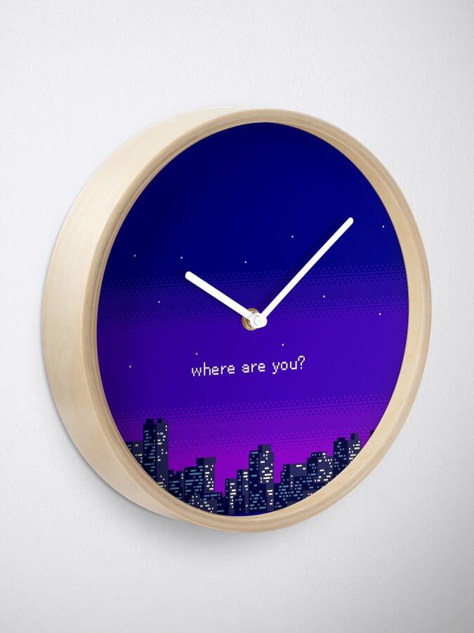 Alternate view of Vaporwave Clock