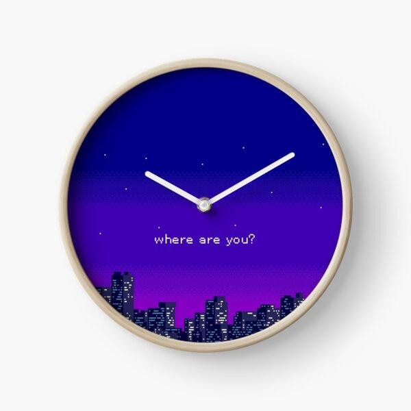 Vaporwave Clock