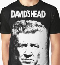 David lynch's head Graphic T-Shirt