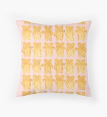 Tiny Teddies - By Merrin Dorothy Throw Pillow