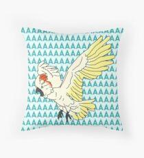 moluccan cockatoo AAAAA Throw Pillow