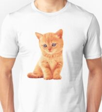 Adorable Ginger Tabby Kitten Very Cute T-Shirt