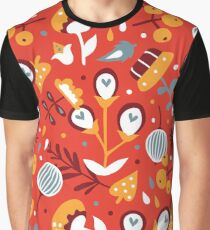 Awesome spring (red) Graphic T-Shirt