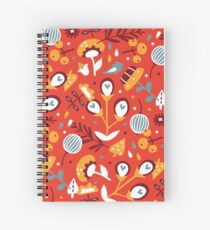 Awesome spring (red) Spiral Notebook