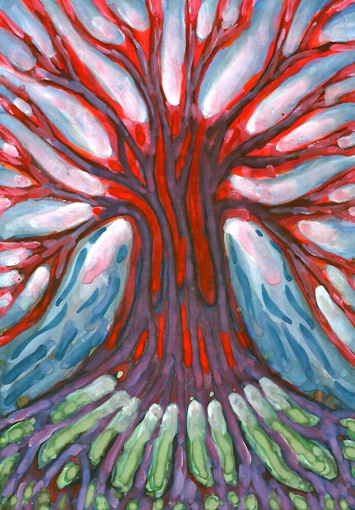 Winter Tree by Wojtek Kowalski