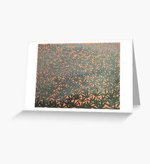 Burnt Spinifex  Greeting Card