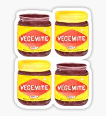 Vegemite Jars Sticker