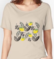 lemon floral collection Women's Relaxed Fit T-Shirt